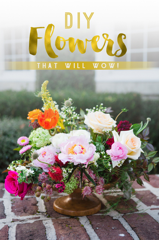 diy flowers that will wow @weddingchicks