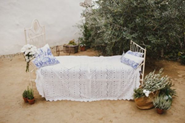 Mediterranean Inspired Garden Wedding