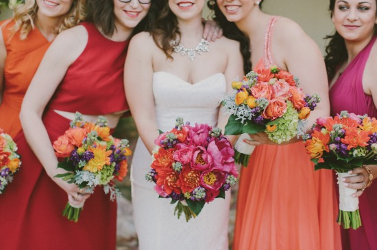 Colorful Multicultural Wedding