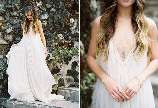 bohemian wedding attire