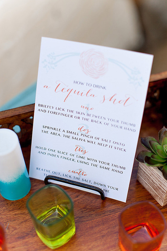 how to drink a tequila shot @weddingchicks