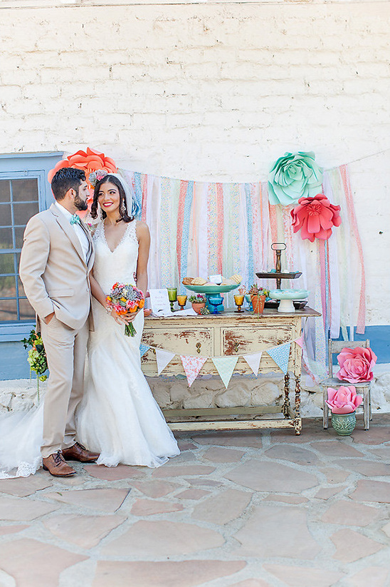 spanish style dessert table @weddingchicks