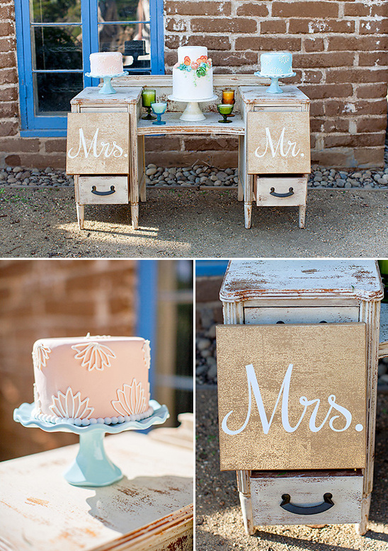rusticated dessert table @weddingchicks
