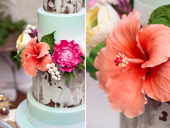 10 Flower Cakes For Spring Including This Design By Cake Ink On Thecakeblog