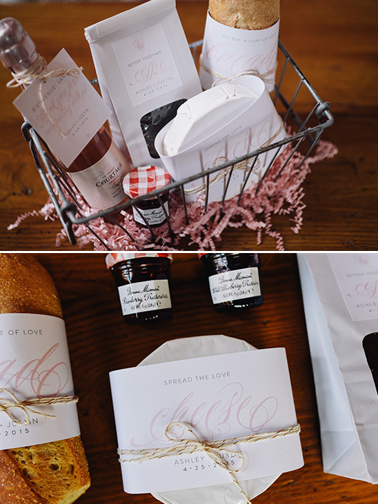 french wedding thank you basket @weddingchicks