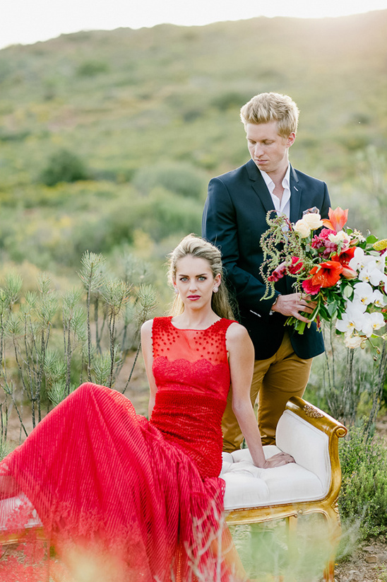 red gown by Gavin Rajah @weddingchicks
