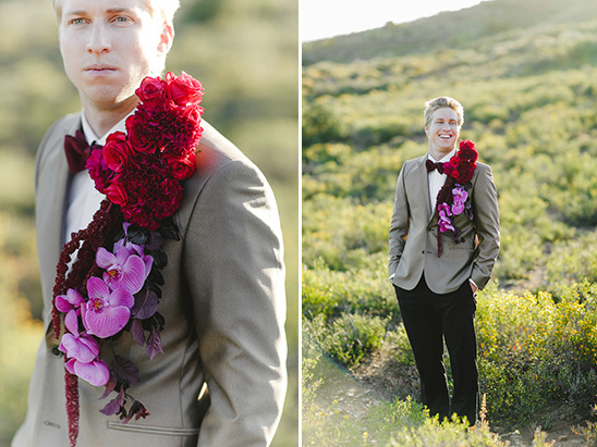 grooms red boutineer ideas @weddingchicks