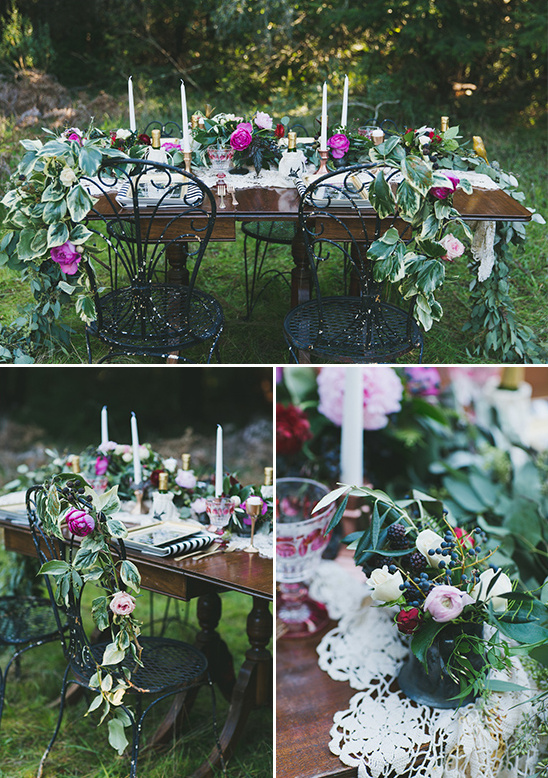 floral table decor ideas @weddingchicks