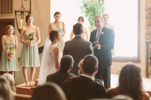 Rustic And Charming Chapel Wedding