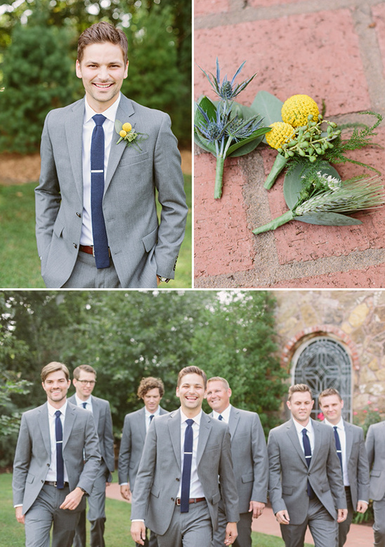 gray and navy groomsmen @weddingchicks