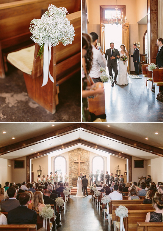 sweet and simple chapel wedding @weddingchicks