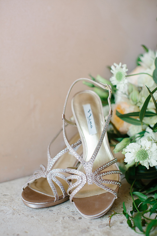 sparkling Nina wedding heels @weddingchicks