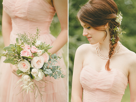 braided wedding hair @weddingchicks