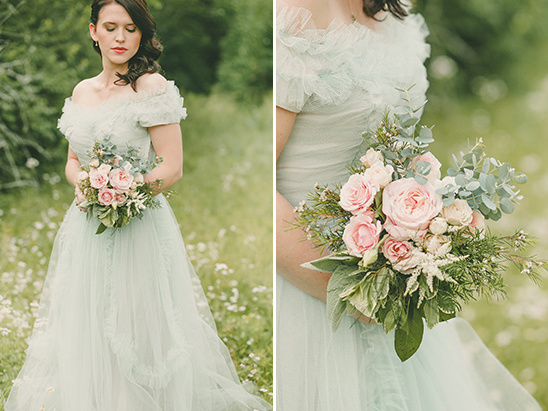 pastel green bridesmaid dress @weddingchicks