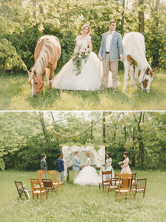 country wedding ceremony ideas @weddingchicks