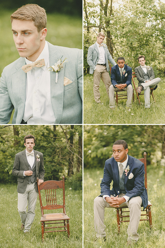 mismatched groomsmen look @weddingchicks