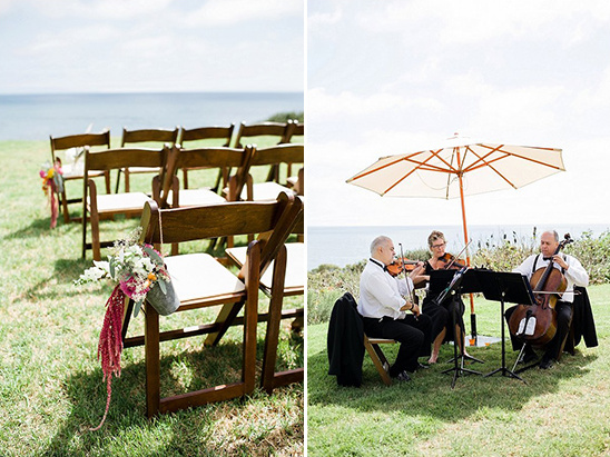 seaside wedding ceremony @weddingchicks