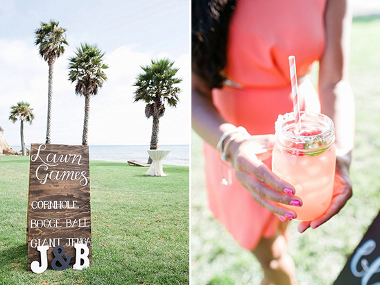 lawn games and cocktail hour @weddingchicks