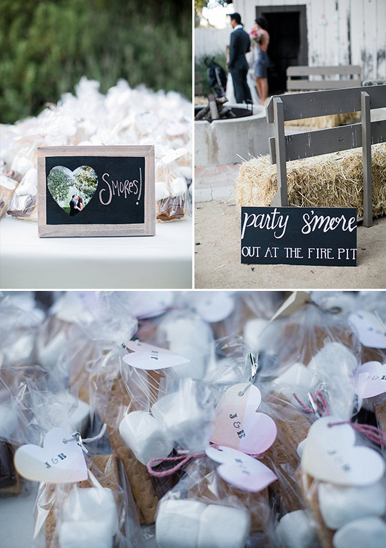 smores wedding favors @weddingchicks