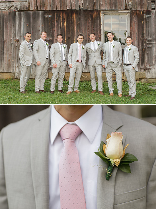 Tommy Hilfiger light gray suits @weddingchicks