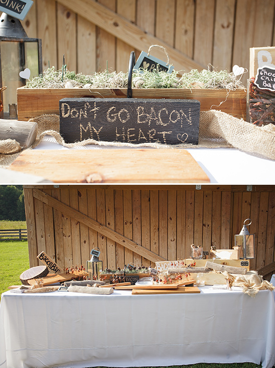 bacon bar ideas @weddingchicks