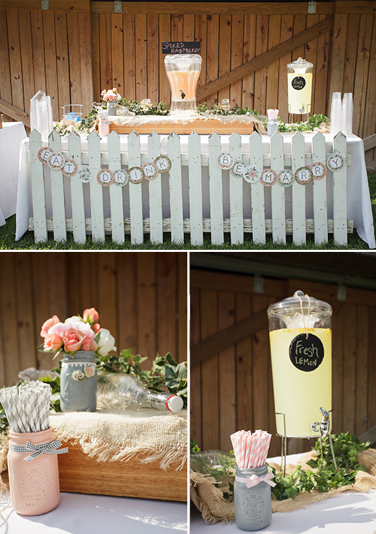 lemonade table ideas @weddingchicks