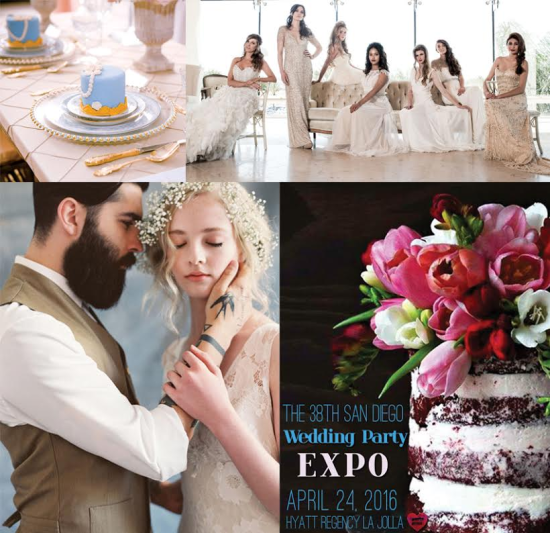 San Diego Wedding Party Expo on April 24th