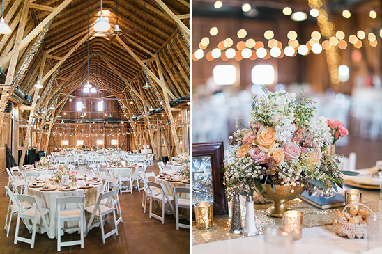 Rustic Gold Glam Wedding