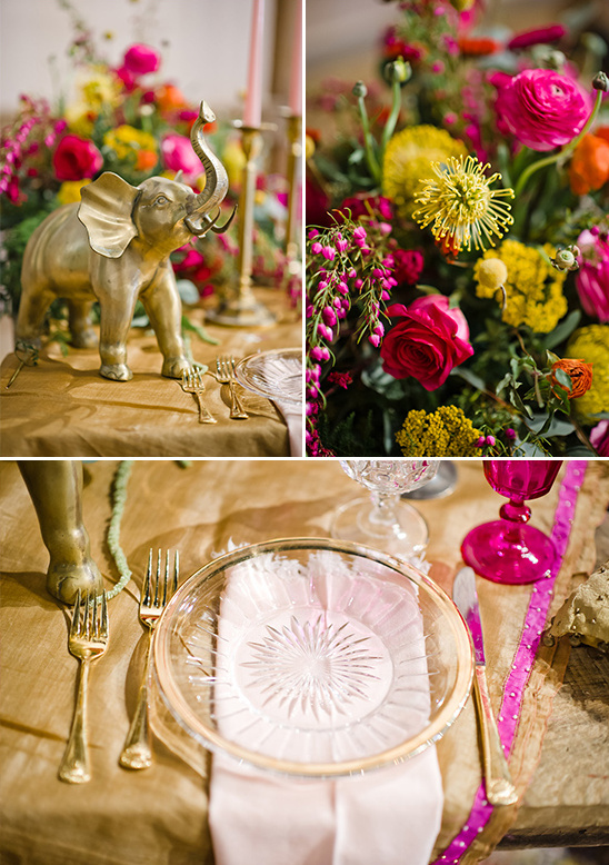 clear gold rim plates @weddingchicks