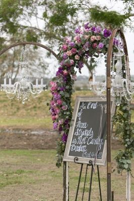 Elegant Wedding In A Field
