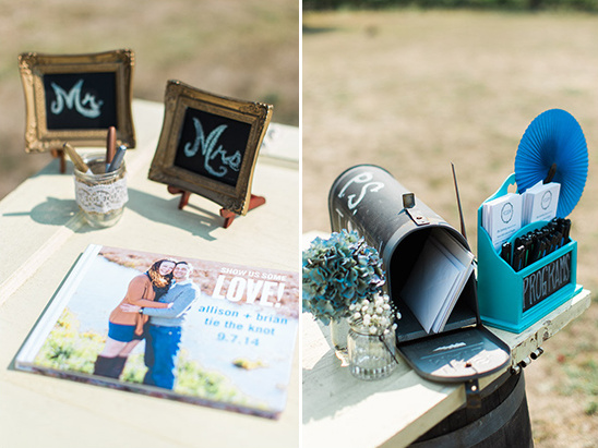 guest book and card holder ideas @weddingchicks