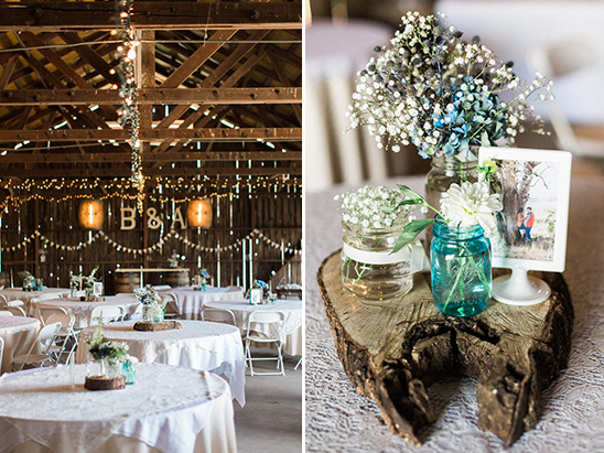 babies breath decor @weddingchicks