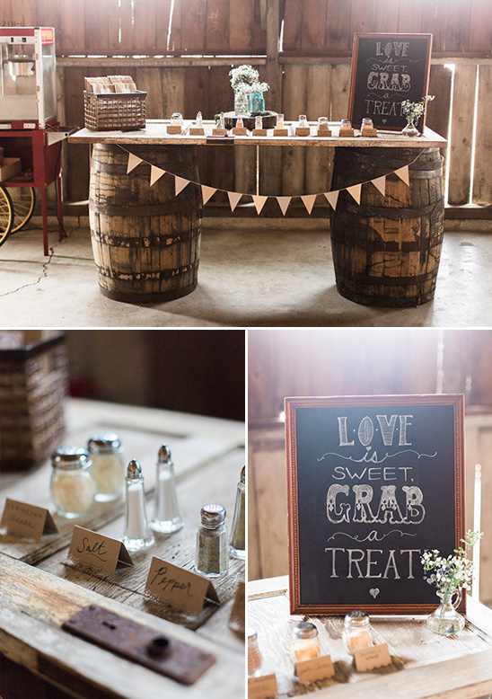 popcorn bar ideas @weddingchicks