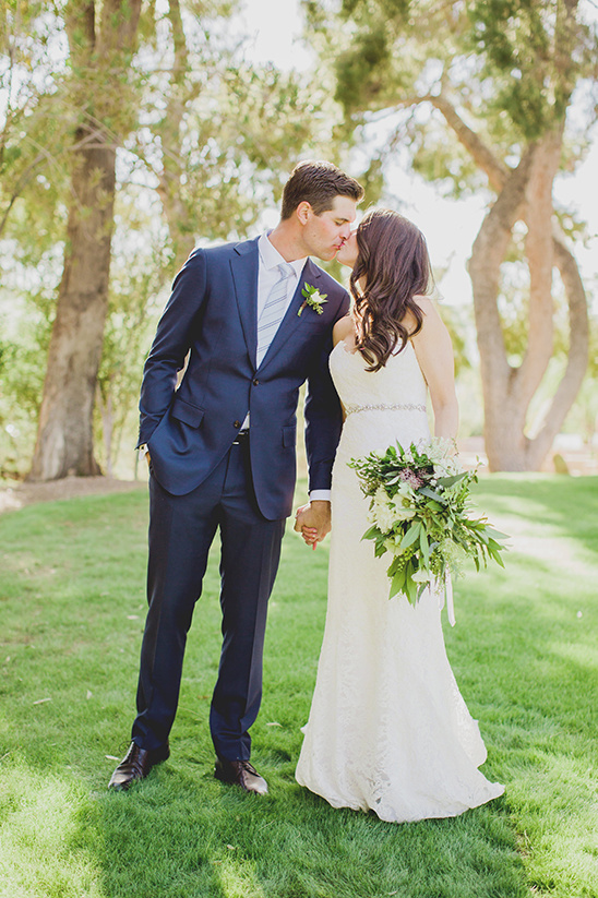 Sweet And Simple Organic Wedding