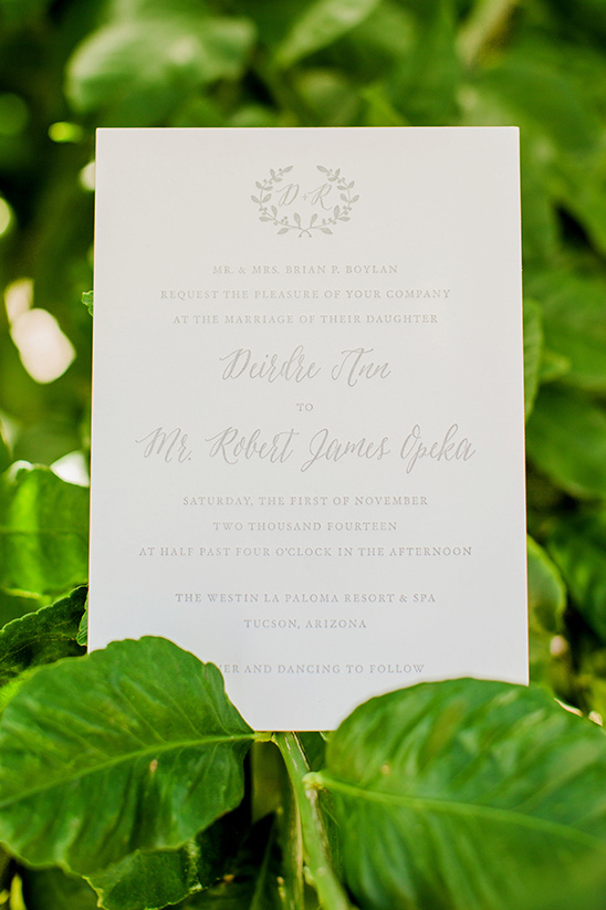 sweet and simple natural wedding stationery @weddingchicks
