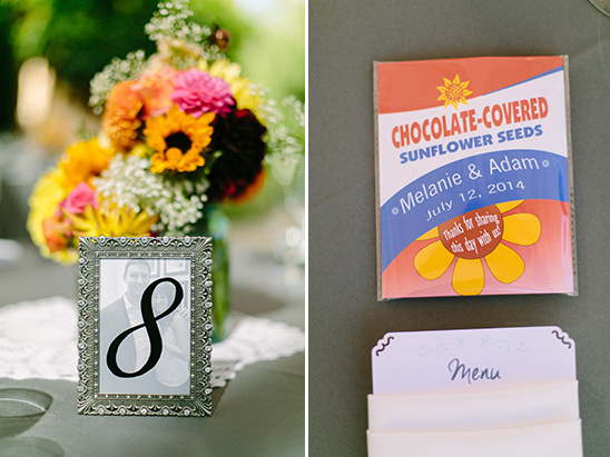 sunflower seeds @weddingchicks