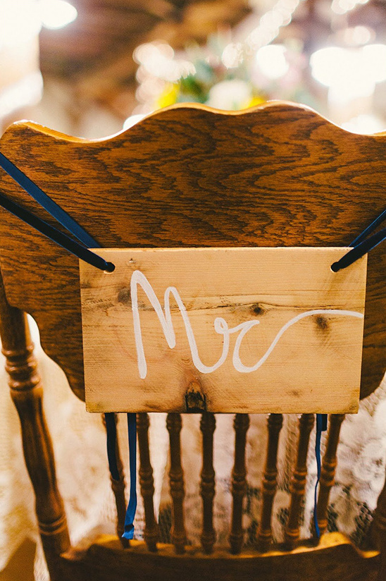 mr chair sign idea @weddingchicks