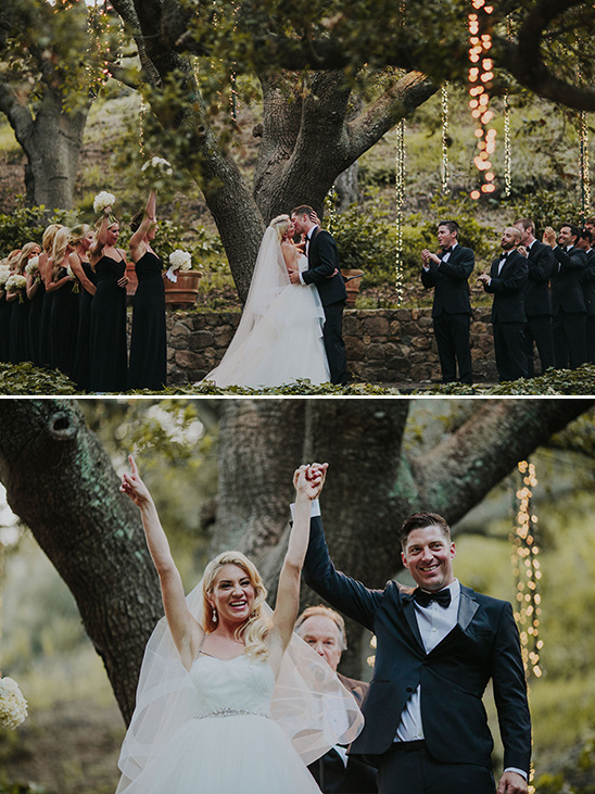 ceremony photos at Calamigos Ranch @weddingchicks