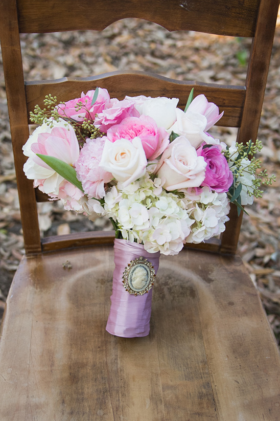 pink and white classy bouquet