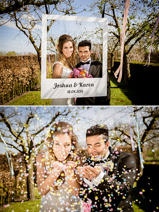 photo frame photo booth idea @weddingchicks