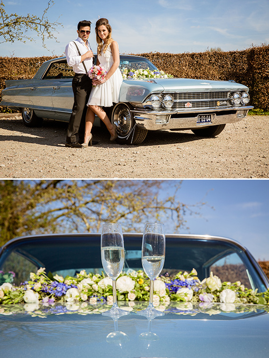 vintage cadillac @weddingchicks
