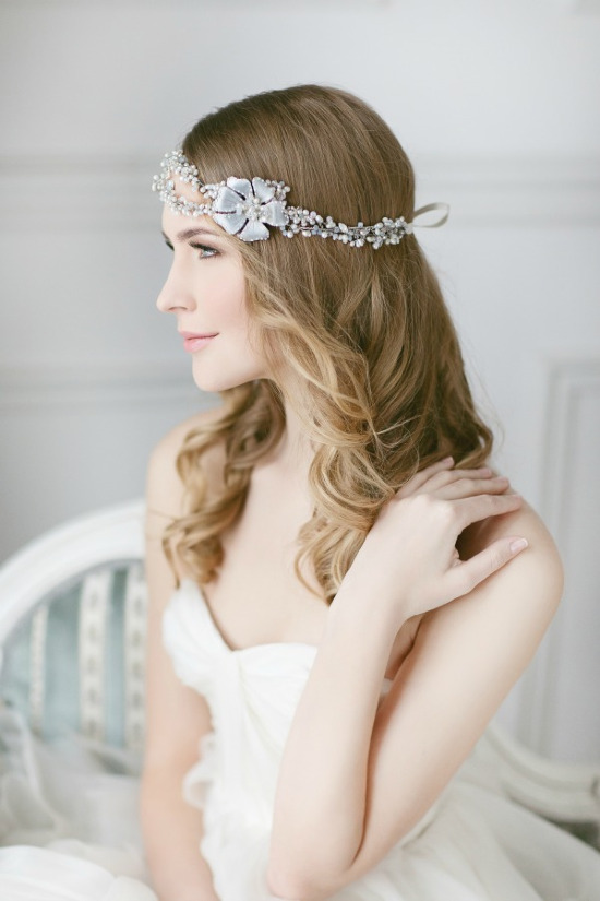 Lavender by Jurgita bridal headpiece. #weddingchicks