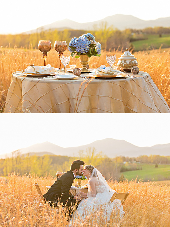 vintage sweetheart table ideas @weddingchicks