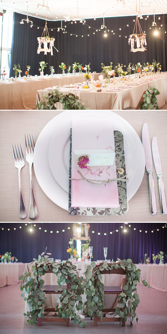 modern alternative wedding decor @weddingchicks