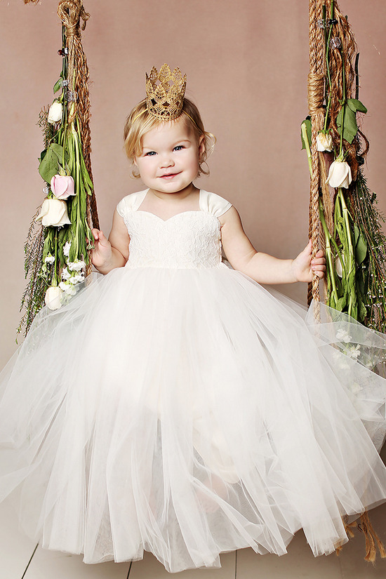 Flower girl dresses from Fattipie. #weddingchicks