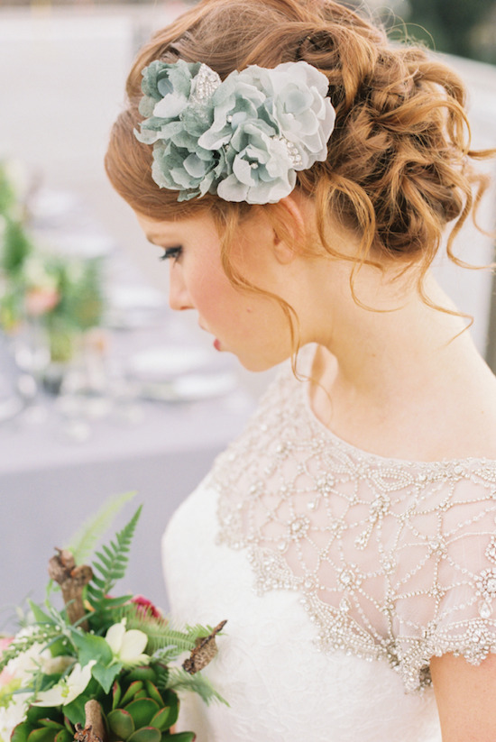 Sophisticated, bridal hair accessories from Serephine. #wcriseandshine