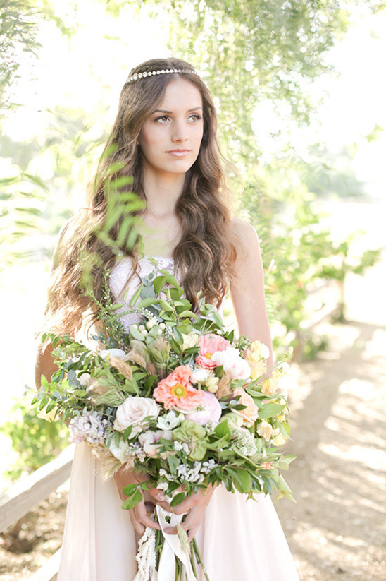 soft peach bridal looks @weddingchicks