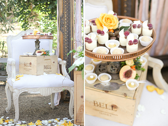 chair table for desserts idea @weddingchicks
