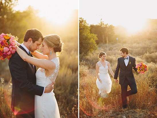 sunset portraits @weddingchicks