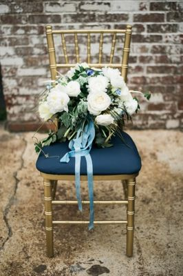 Navy And Gold Watercolor Inspiration